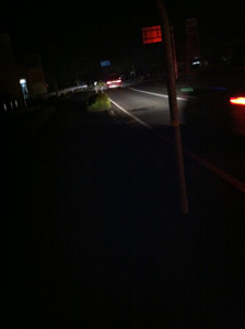ONE POINT-ほろ酔い夜道